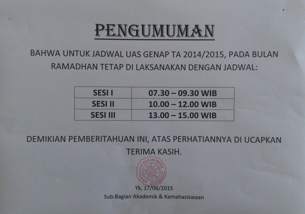 Fakultas Mipa Ugm Share The Knownledge
