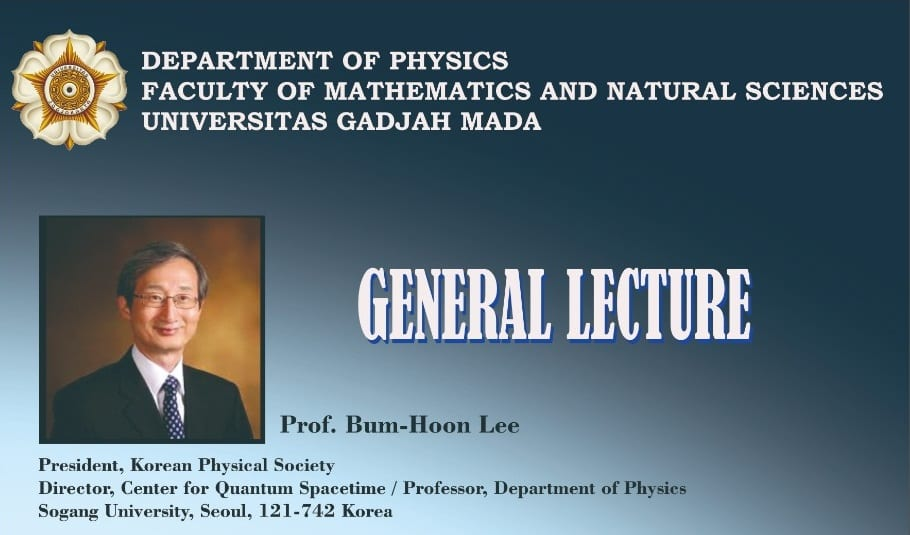 General Lecture | From Cosmos to Particles – Status and Challenges